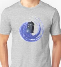 Flying, time traveling, adventuring box T-Shirt