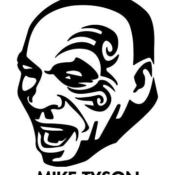Mike Tyson by Nkioi