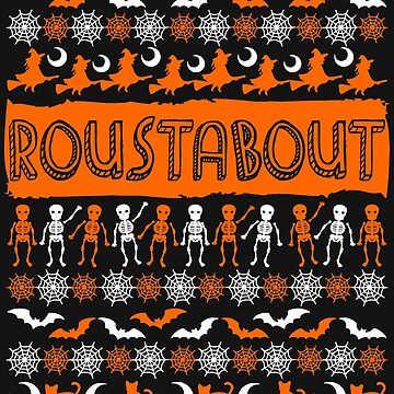 Cool Roustabout Ugly Halloween Gift t-shirt by BBPDesigns