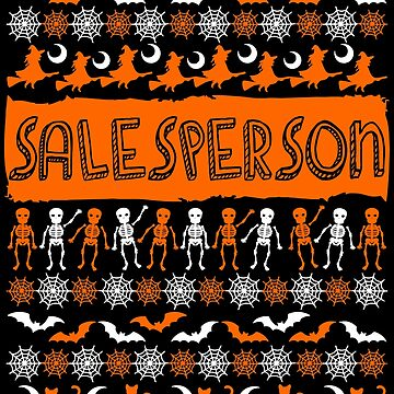 Cool Salesperson Ugly Halloween Gift t-shirt by BBPDesigns
