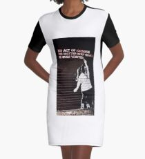 No Act of Kindness is Wasted Series Graphic T-Shirt Dress
