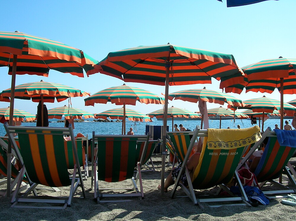 Monterosso beach by kactus