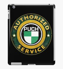Puch authorized service iPad Case/Skin