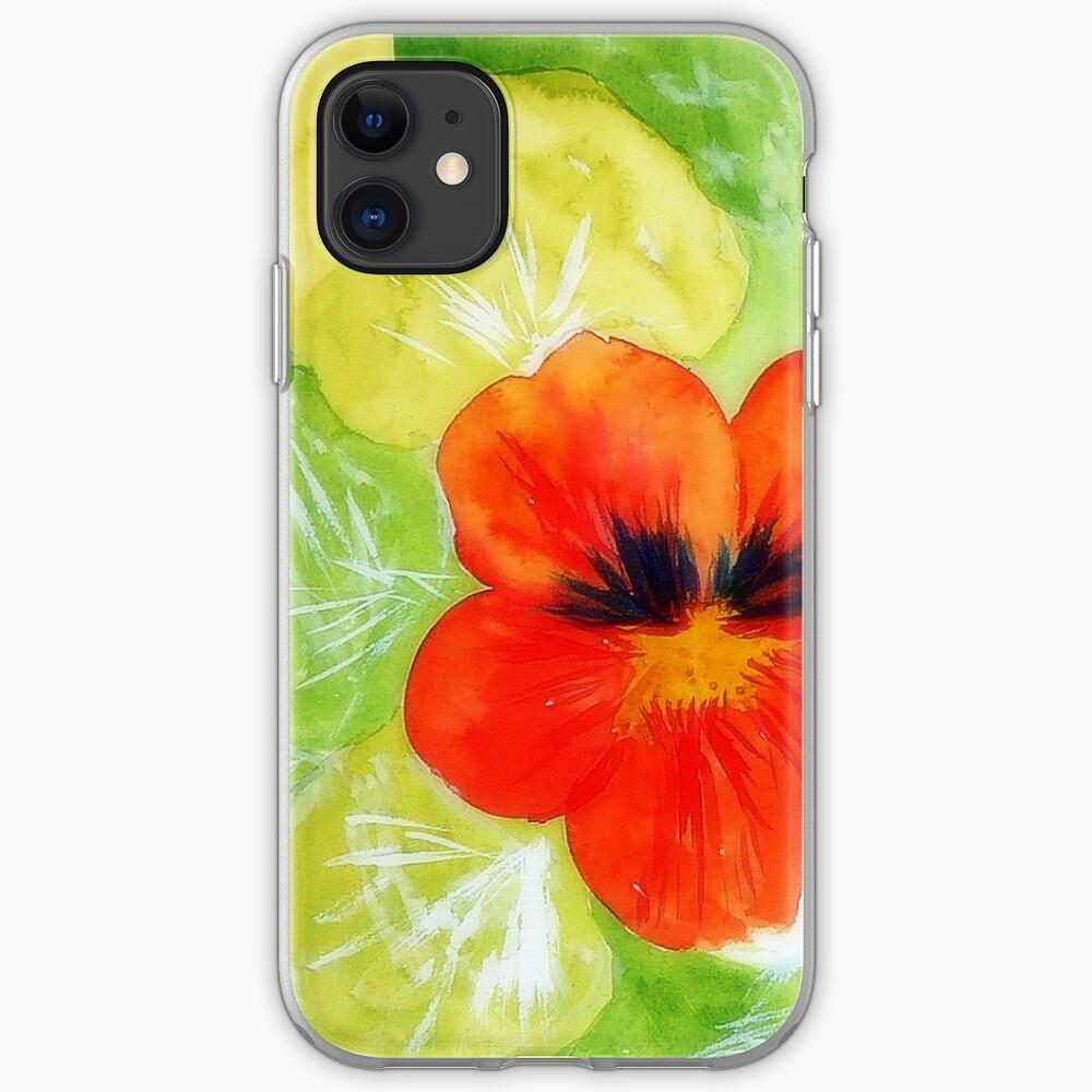 Nasturtium iPhone Case & Cover
