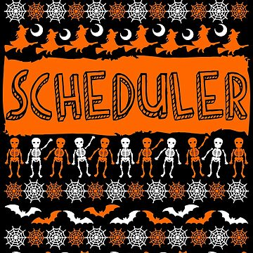 Cool Scheduler Ugly Halloween Gift t-shirt by BBPDesigns
