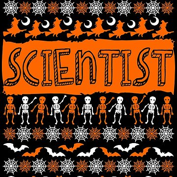 Cool Scientist Ugly Halloween Gift t-shirt by BBPDesigns