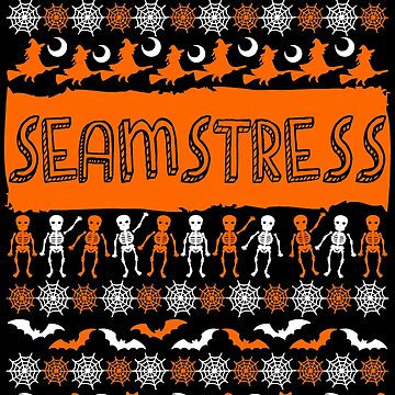 Cool Seamstress Ugly Halloween Gift t-shirt by BBPDesigns