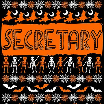 Cool Secretary Ugly Halloween Gift t-shirt by BBPDesigns