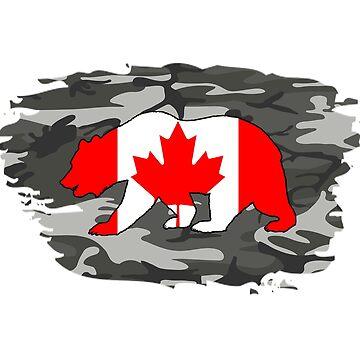 Canada army bear by Rocky2018