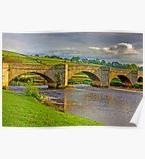 Packhorse Bridge - Burnsall Poster