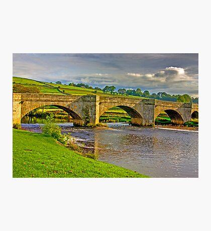Packhorse Bridge - Burnsall Photographic Print