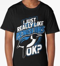 Penguins animals Long T-Shirt