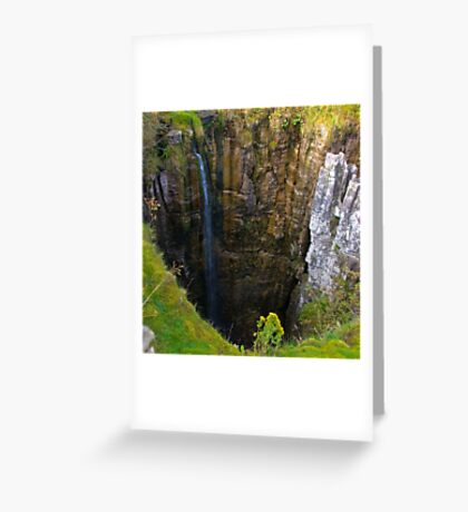 Pot Hole (Buttertubs Pass) Greeting Card