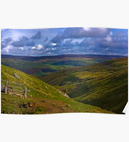 Towards Swaledale Poster