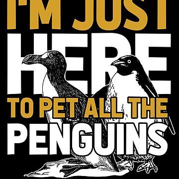 Petting penguins by GeschenkIdee