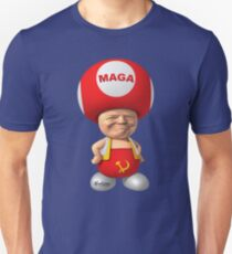 Mushroom Man Trump Unisex T-Shirt