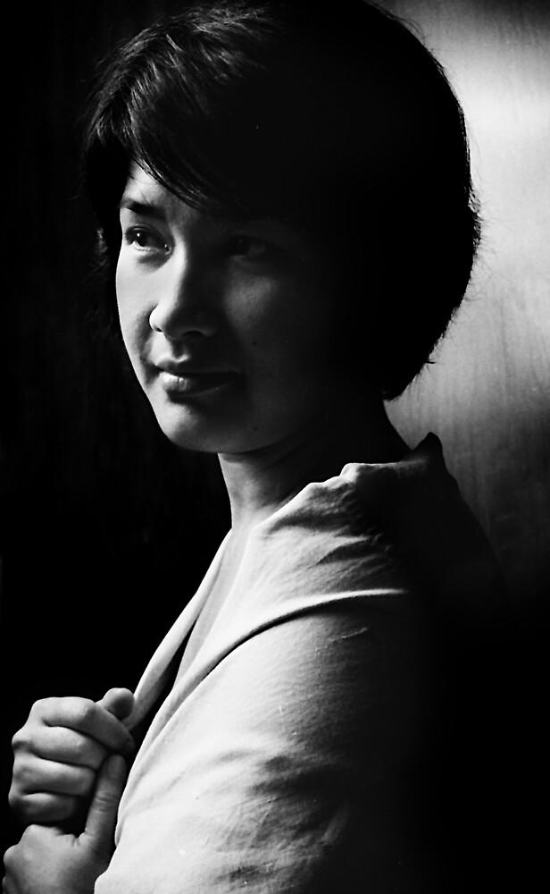The Portrait of Dwi Rahmania #3 by irenaeus herwindo