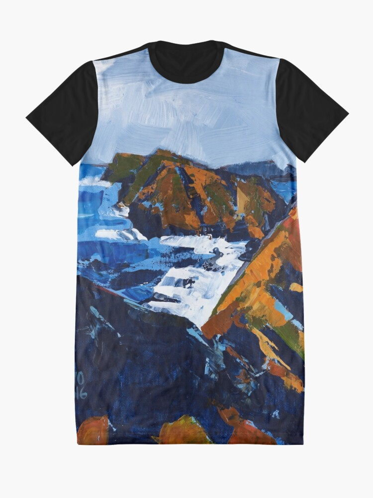 Alternate view of Rocky Surf Graphic T-Shirt Dress