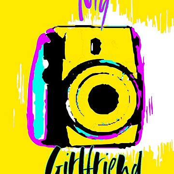 yellow camera illustration  by NoraMohammed