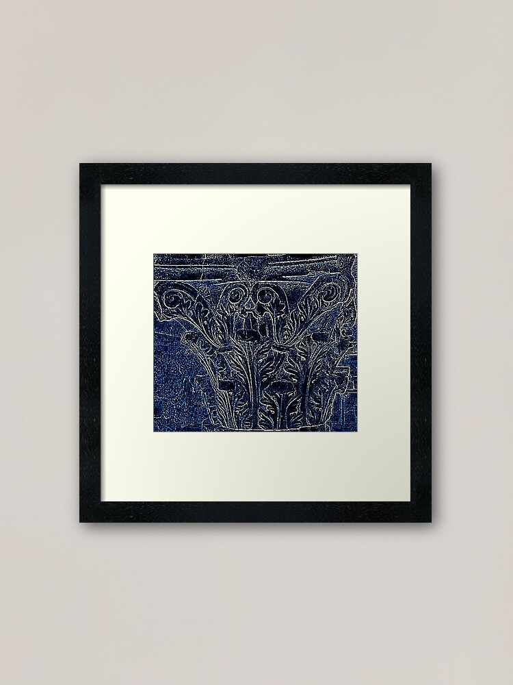 Alternate view of Corinthian Framed Art Print