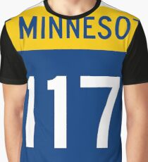 Minnesota Trunk Highway MN 117 | United States Highway Shield Sign Sticker Graphic T-Shirt