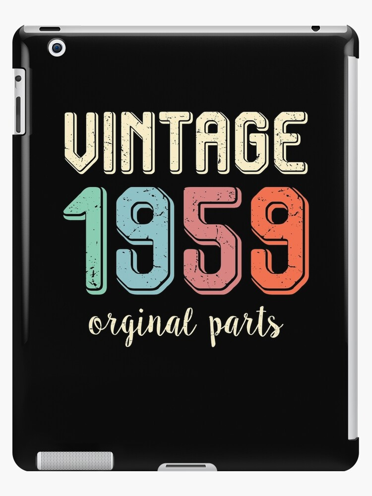 Vintage Retro 1959 60 Years Old 60th Birthday Gift T Shirt