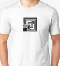 Textile Block Black Architecture Tshirt T-Shirt