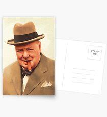 Prime Minister, Winston Churchill Postcards