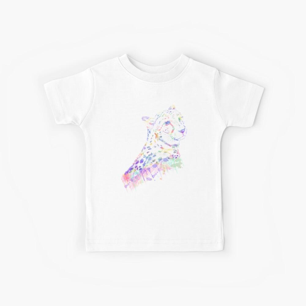 Aquarell Gepard Kinder T-Shirt