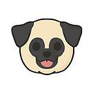 Pug Face by ncdoggGraphics