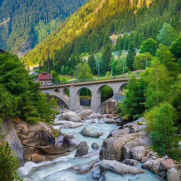 Göschenen, Switzerland by PeterCseke