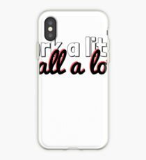 Ball a lot iPhone Case