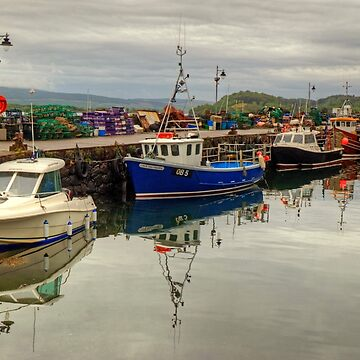 Tobermory Harbour, Mull by VoluntaryRanger