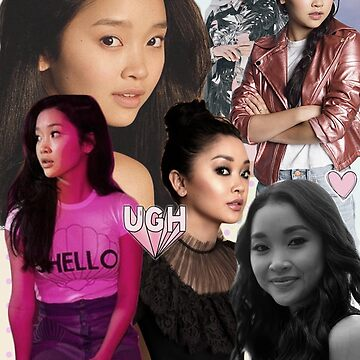 Lana Condor Collage  by alex44695