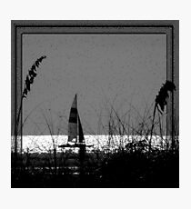Sailing (It's not far to never never land) Photographic Print