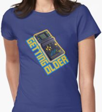 Getting Older Vintage Video Game Women's Fitted T-Shirt
