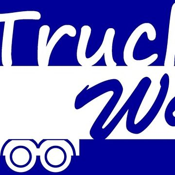 Trucker's Wife Bumper Sticker by ptyarb