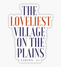 loveliest village Sticker