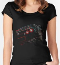 Nissan GTR Women's Fitted Scoop T-Shirt