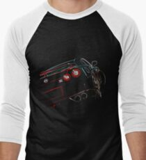 Nissan GTR Men's Baseball ¾ T-Shirt