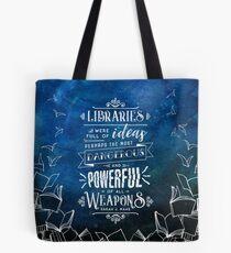 Libraries Tote Bag