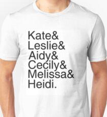 SNL Girl Gang: Late 2010s Unisex T-Shirt