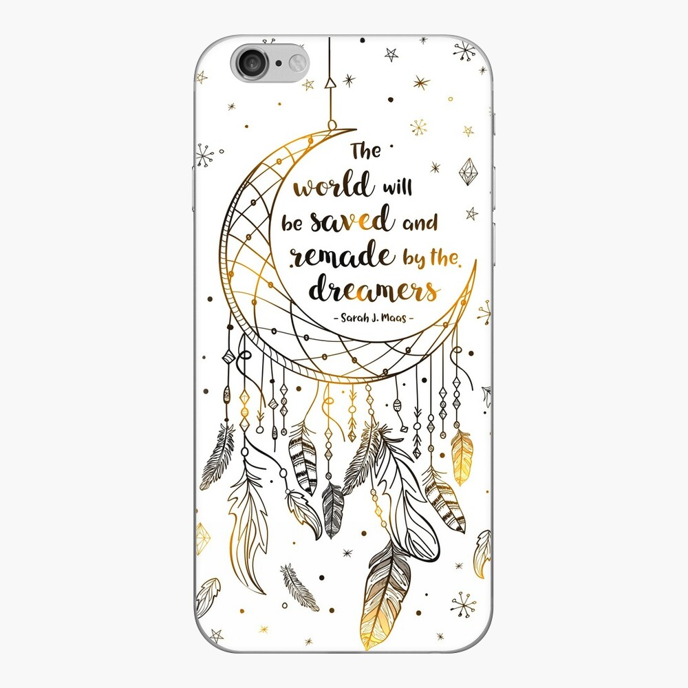 The world will be saved iPhone Skin