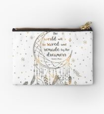 The world will be saved Studio Pouch