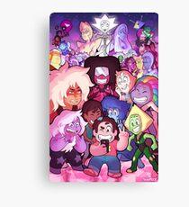 Steven Universe Family Portrait Canvas Print