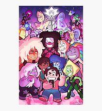 Steven Universe Family Portrait Photographic Print