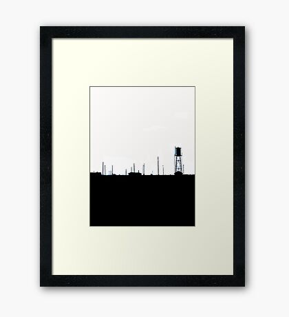 Place Of Shadows Framed Print