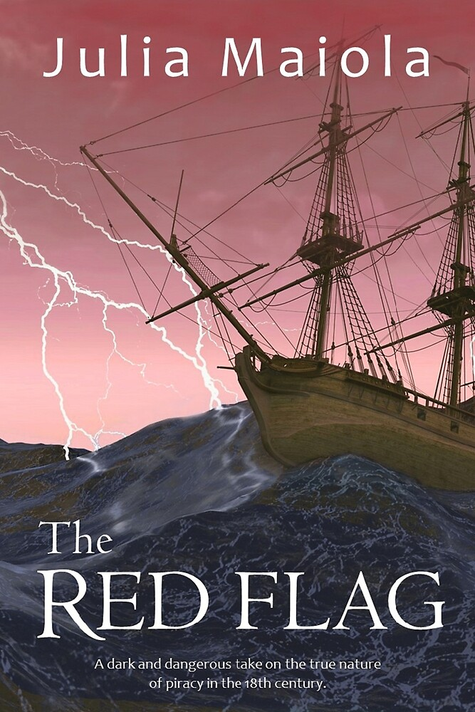 The Red Flag Book Cover by CaptainMaiola