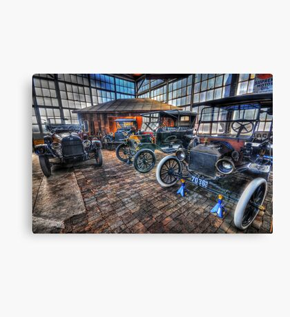 Just Like Old Times Canvas Print