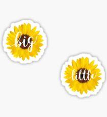 Big Little Sunflowers Sticker